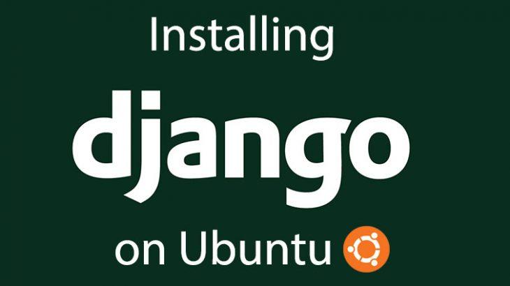 install django in ubuntu
