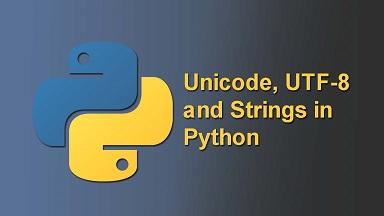 convert string to utf8 in python