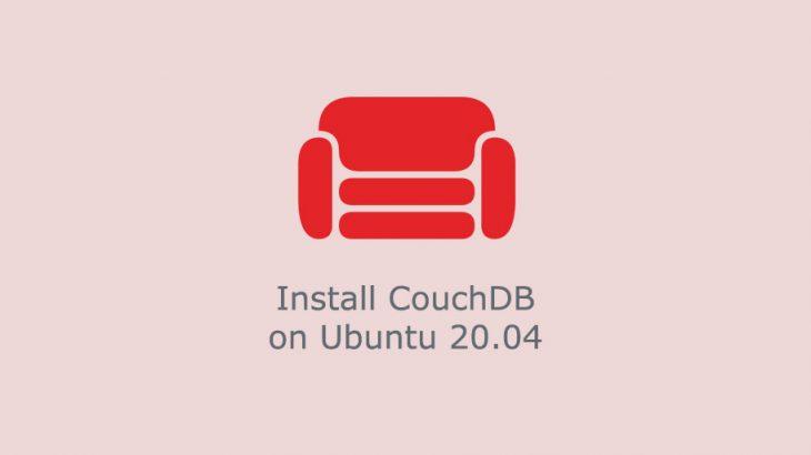 how to install couchdb in ubuntu