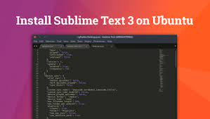 install sublime text 3 in ubuntu