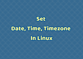 set or change time zone in ubuntu
