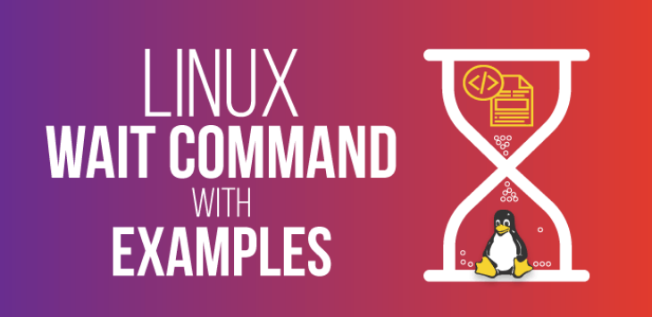 wait command in linux