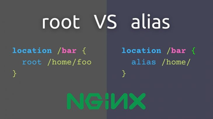 nginx root vs alias