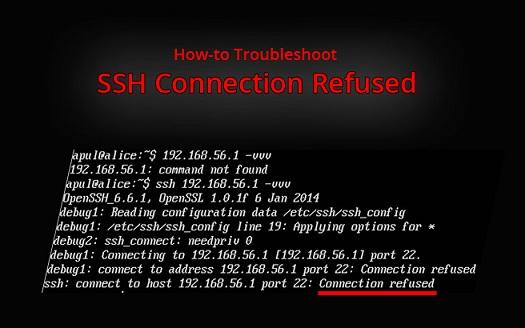 fix ssh connection refused error