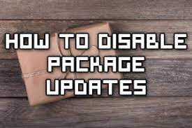 disable package updates in linux