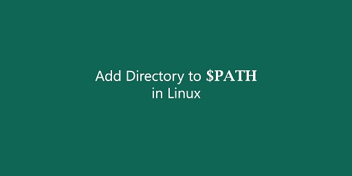 how to add directory to path in linux