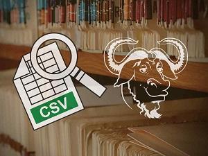 parse csv file in shell script