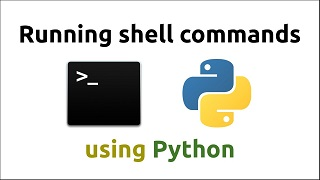 how to run shell command in python