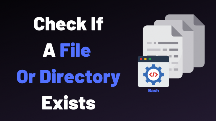 shell script to check if directory exists