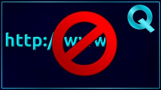 block website in linux