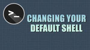 change default shell in linux