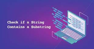 check if string contains substring