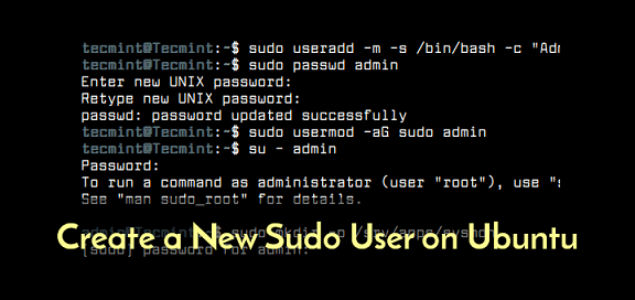 grant sudo access to user in linux