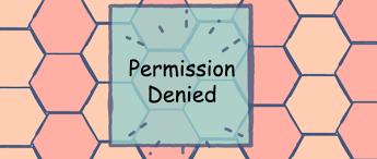fix permission denied error in linux
