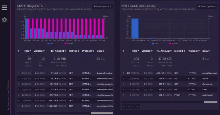 install goaccess log analyzer ubuntu