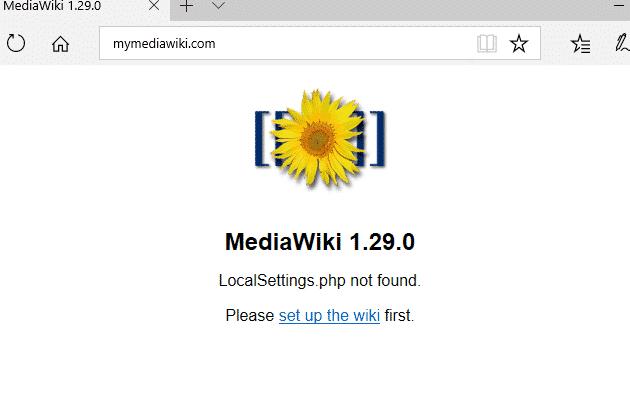 how to install mediawiki with nginx in ubuntu