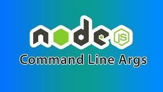 nodejs command line arguments