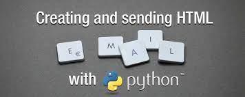 send html email python