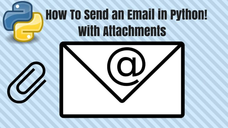 send html email with attachments in python
