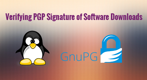 verify pgp signagure in linux