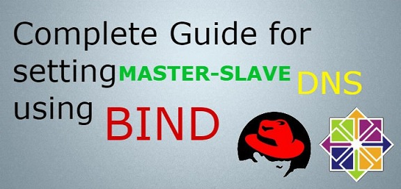 create master slave dns server