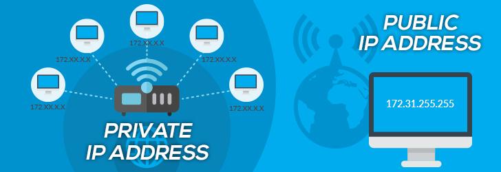 find public ip address of server