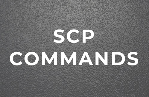 scp command to copy file from one server to another