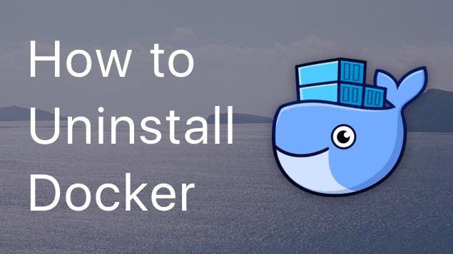 how to uninstall docker in ubuntu