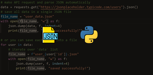 convert json to dict in python