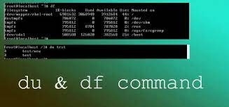 difference between df and du in Linux