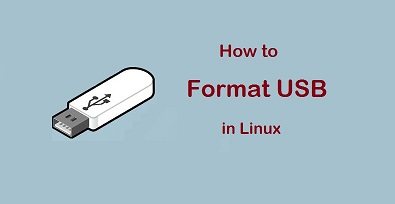 format usb in linux