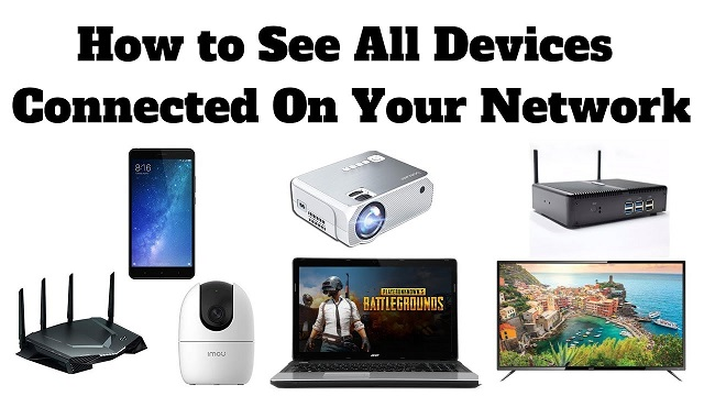 list connected devices on network