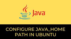 set JAVA_HOME ubuntu